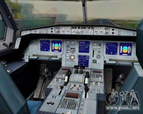 Airbus A330-300 Swiss International Air Lines para GTA San Andreas interior