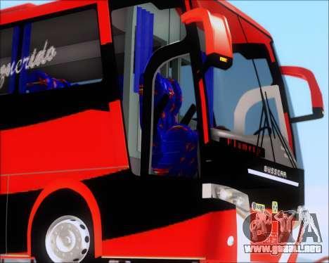 Busscar Elegance 360 C.R.F Flamengo para la vista superior GTA San Andreas