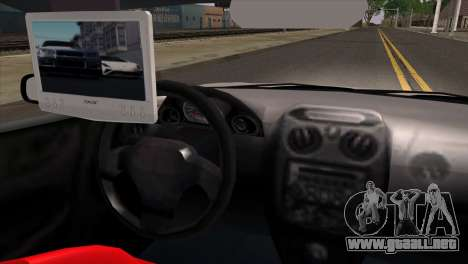 Mitsubishi Eclipse GTS Tuning para GTA San Andreas vista posterior izquierda