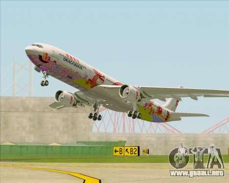 Airbus A330-300 Dragonair (20th Year Livery) para visión interna GTA San Andreas