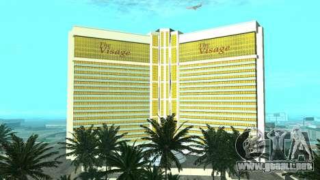 Nuevas texturas de casino Rostro en Las Venturas para GTA San Andreas octavo de pantalla