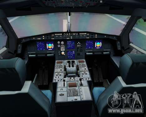 Airbus A340-313 Air Canada para GTA San Andreas interior