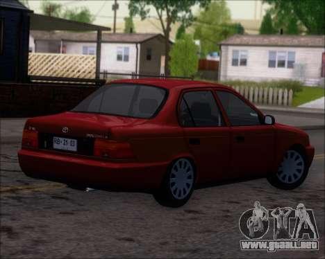 Toyota Corolla 1.6 para la visión correcta GTA San Andreas