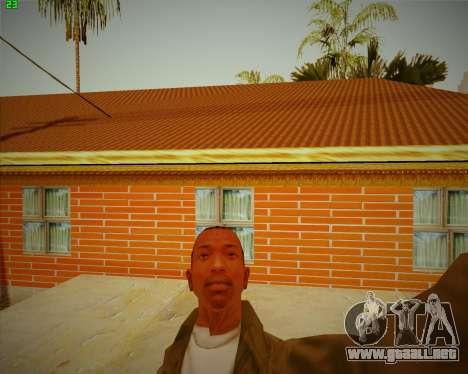 Actualizada la casa de CJ para GTA San Andreas tercera pantalla