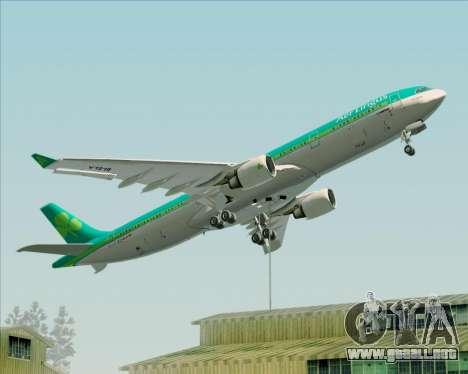 Airbus A330-300 Aer Lingus para las ruedas de GTA San Andreas