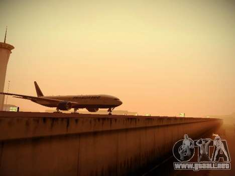 Boeing 777-212ER Transaero Airlines para visión interna GTA San Andreas