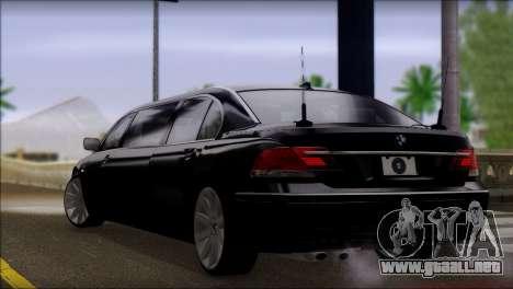 BMW E66 7-Series Limousine para GTA San Andreas left