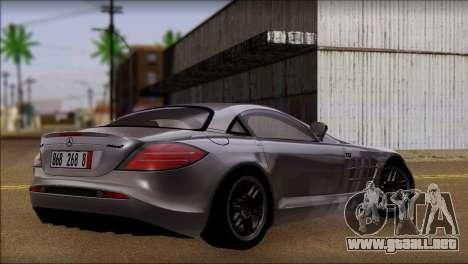Mercedes-Benz SLR 722 para GTA San Andreas left