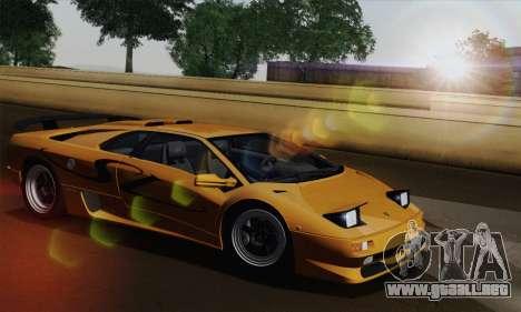 Lamborghini Diablo SV 1995 (HQLM) para la visión correcta GTA San Andreas