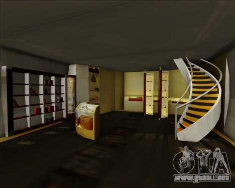Airbus A380-861 Qatar Airways para GTA San Andreas interior