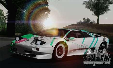 Lamborghini Diablo SV 1995 (ImVehFT) para GTA San Andreas