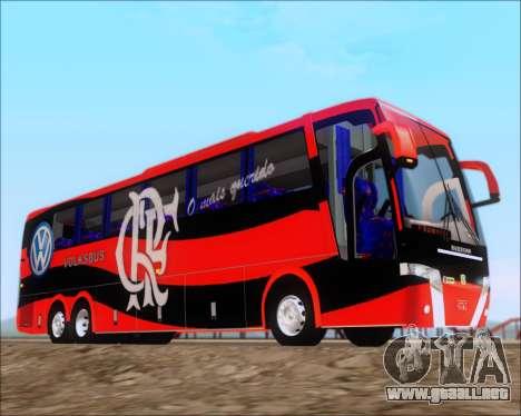 Busscar Elegance 360 C.R.F Flamengo para visión interna GTA San Andreas
