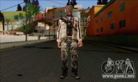 Arctic Avenger (Tactical Intervention) v2 para GTA San Andreas