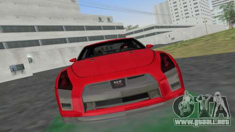 Nissan GT-R Prototype para GTA Vice City vista lateral izquierdo