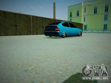 Lada Priora Coupe para visión interna GTA San Andreas