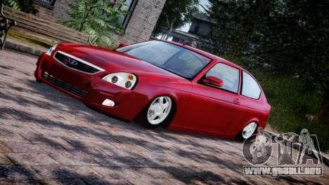 Lada Priora Coupe para GTA 4 vista lateral