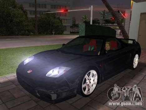 Honda NSX-R para GTA Vice City vista lateral