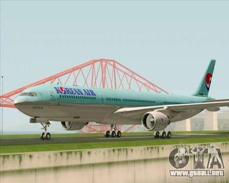 Airbus A330-300 Korean Air para GTA San Andreas left