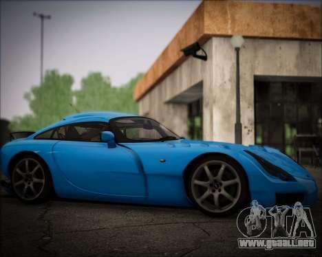 TVR Sagaris 2005 para la visión correcta GTA San Andreas
