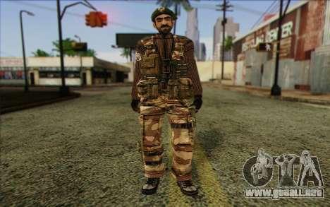 Soldados de MEK (Battlefield 2) de la Piel 5 para GTA San Andreas