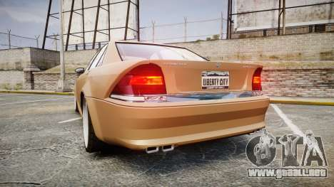 Schafter AMG para GTA 4 Vista posterior izquierda