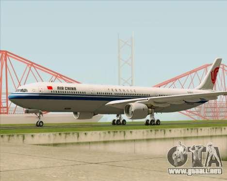 Airbus A330-300 Air China para GTA San Andreas left