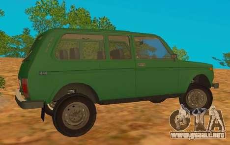 VAZ-2129 Niva 4x4 para GTA San Andreas left