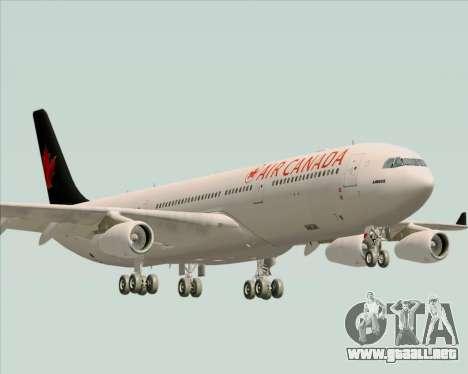 Airbus A340-313 Air Canada para GTA San Andreas