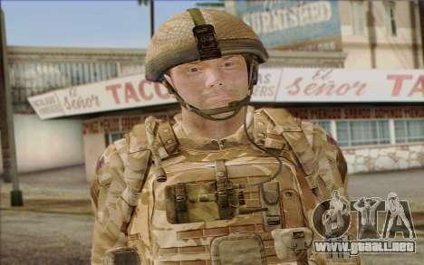 Soldados británicos (ArmA II: BAF) v2 para GTA San Andreas tercera pantalla