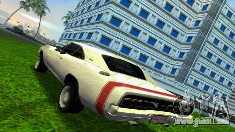 Dodge Charger 1967 para GTA Vice City visión correcta
