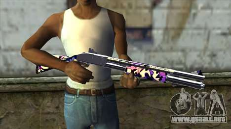 Graffiti Shotgun v3 para GTA San Andreas tercera pantalla