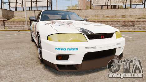 Nissan Skyline R33 1995 Infinite Stratos para GTA 4
