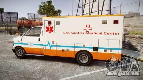 GTA V Brute Ambulance [ELS] para GTA 4 left