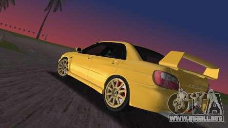 Subaru Impreza WRX 2002 Type 1 para GTA Vice City left