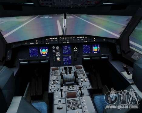 Airbus A330-300 Korean Air para GTA San Andreas interior