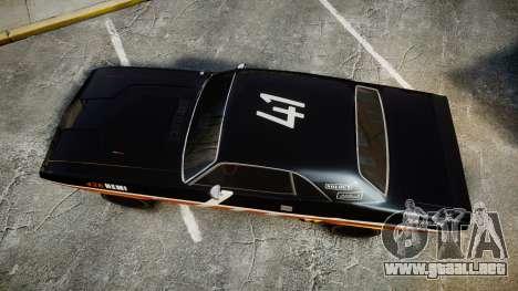 Dodge Challenger 1971 v2.2 PJ9 para GTA 4 visión correcta