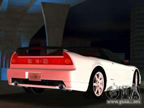 Honda NSX-R para GTA Vice City vista posterior