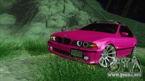 BMW M5 E39 2003 Stance para visión interna GTA San Andreas