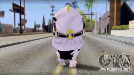 Ahguy from Sponge Bob para GTA San Andreas segunda pantalla