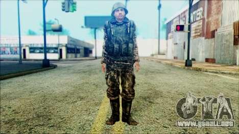 Soldado SA (WIC) para GTA San Andreas