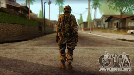 Los soldados de la UE (AVA) v3 para GTA San Andreas segunda pantalla
