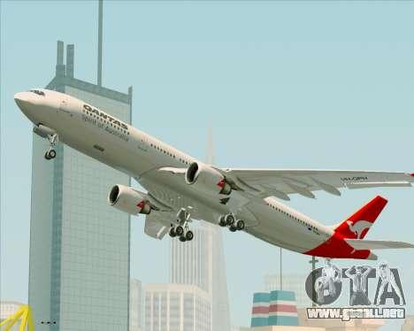 Airbus A330-300 Qantas para el motor de GTA San Andreas