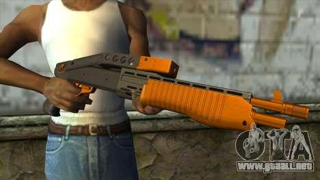 Nitro Shotgun v2 para GTA San Andreas tercera pantalla
