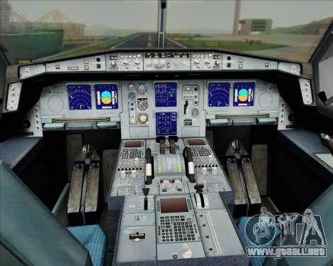 Airbus A330-300 Air Inter para las ruedas de GTA San Andreas