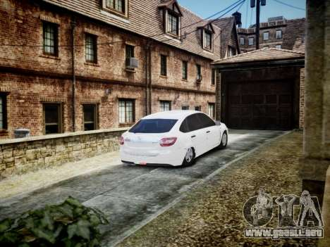 Lada Granta Liftback para GTA 4 visión correcta