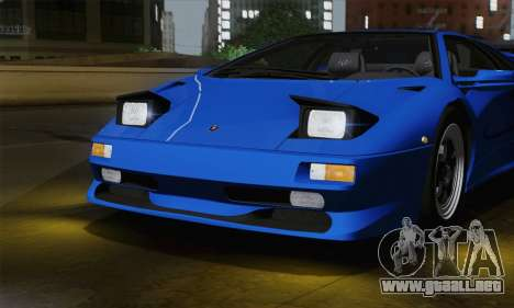 Lamborghini Diablo SV 1995 (ImVehFT) para visión interna GTA San Andreas