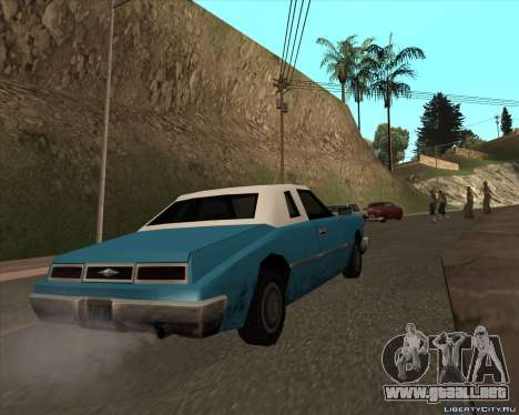 Idaho para GTA San Andreas vista posterior izquierda