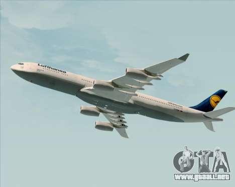 Airbus A340-313 Lufthansa para GTA San Andreas