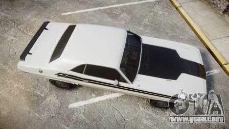 Dodge Challenger 1971 v2.2 PJ1 para GTA 4 visión correcta