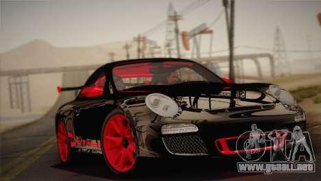 Porsche 911 GT3RSR para GTA San Andreas vista posterior izquierda